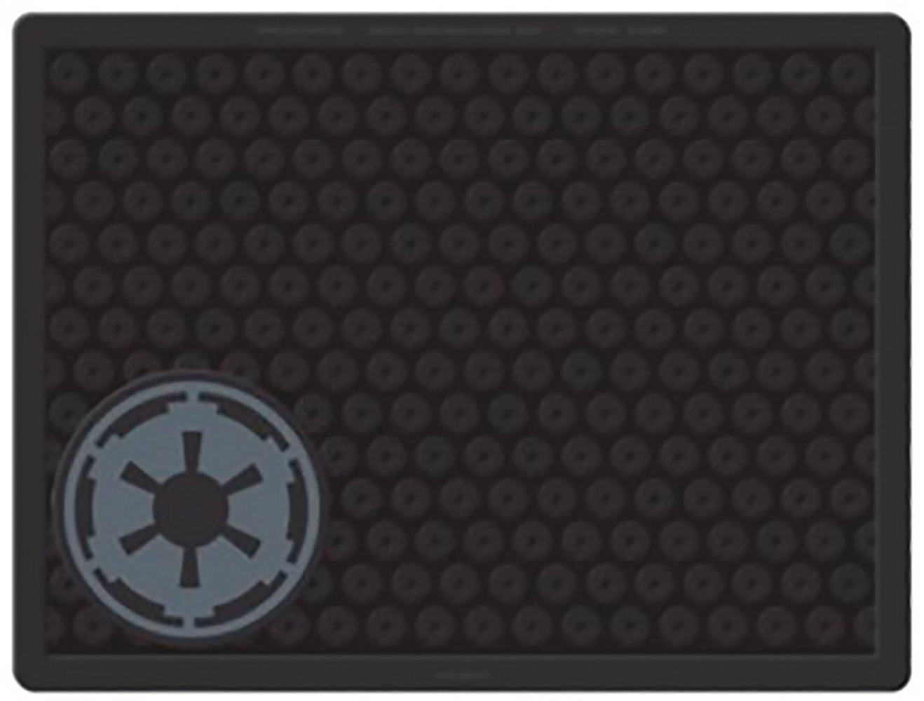 Image: Star Wars Welcome Mat: Empire Symbol  - Plasticolor Inc.