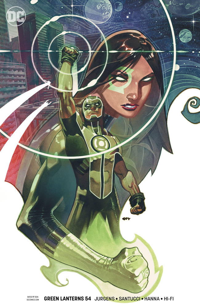 Image: Green Lanterns #54 (variant cover)  [2018] - DC Comics