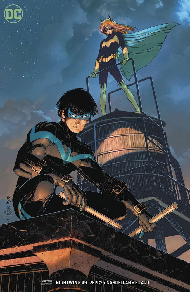 RomitaJr Variant Nightwing #47