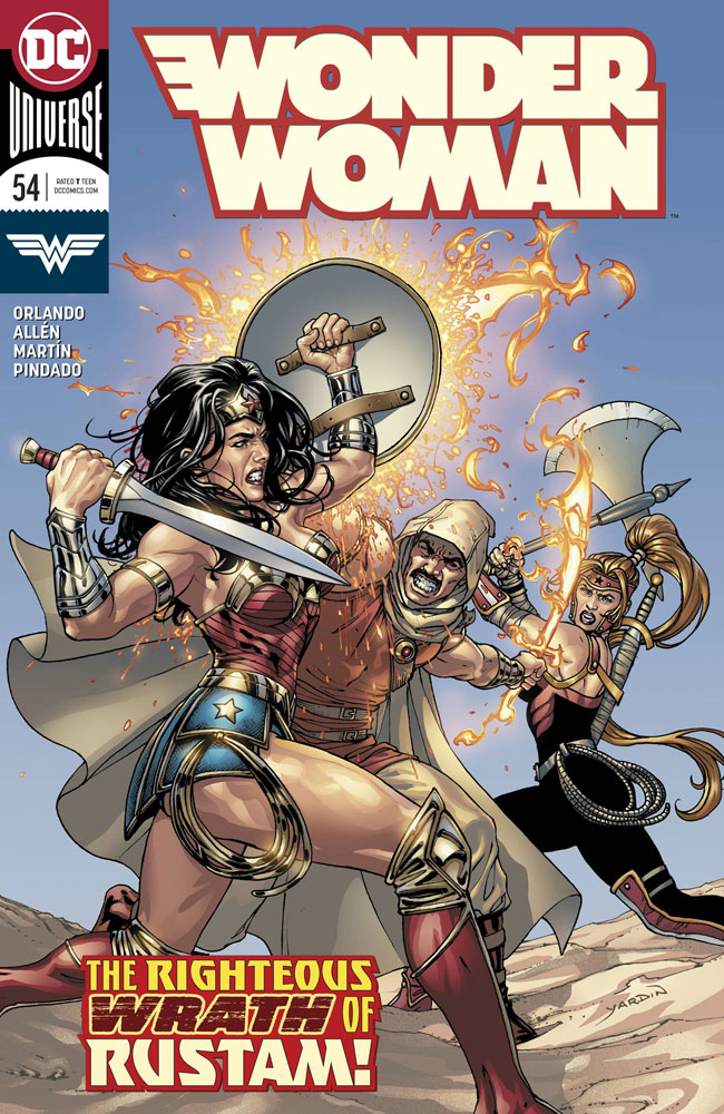 Image: Wonder Woman #54  [2018] - DC Comics
