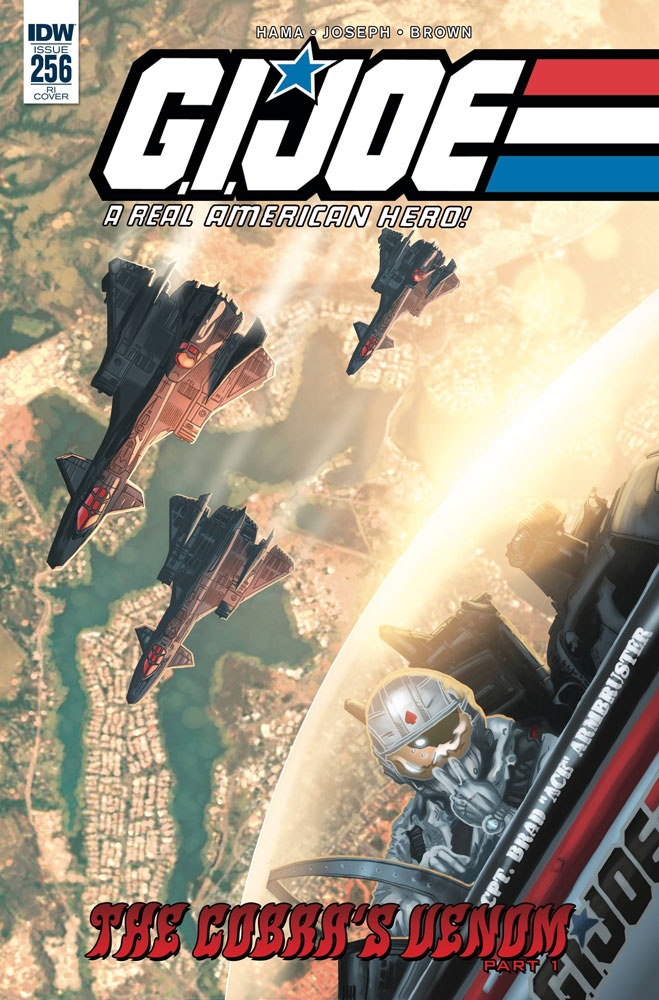 Image: G.I. Joe: A Real American Hero #256 (incentive cover - Sullivan) (10-copy)  [2018] - IDW Publishing
