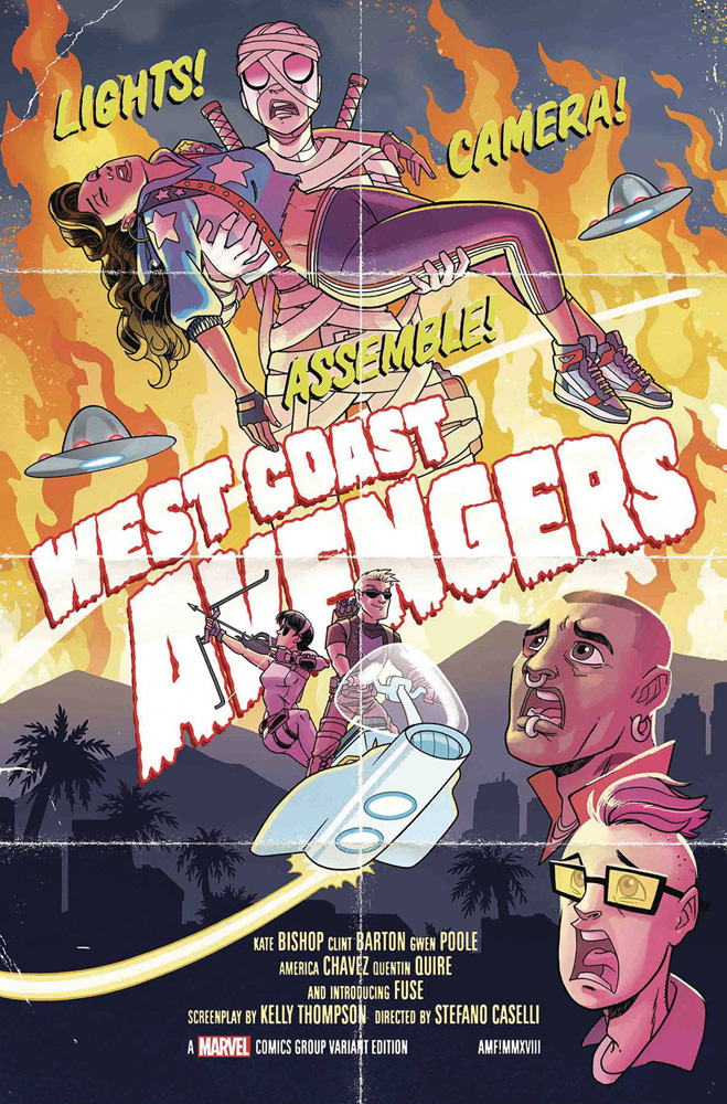 Image: West Coast Avengers #2 (variant cover - Fleecs)  [2018] - Marvel Comics
