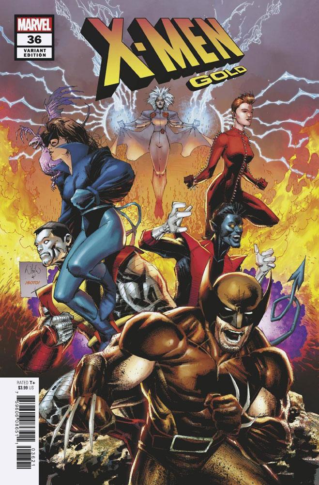 X-Men Gold #28A Noto Variant VF 2018 Stock Image