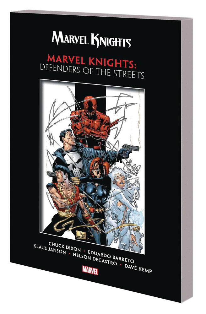 Image: Marvel Knights by Dixon & Barreto: Defenders of the Streets SC  - Marvel Comics