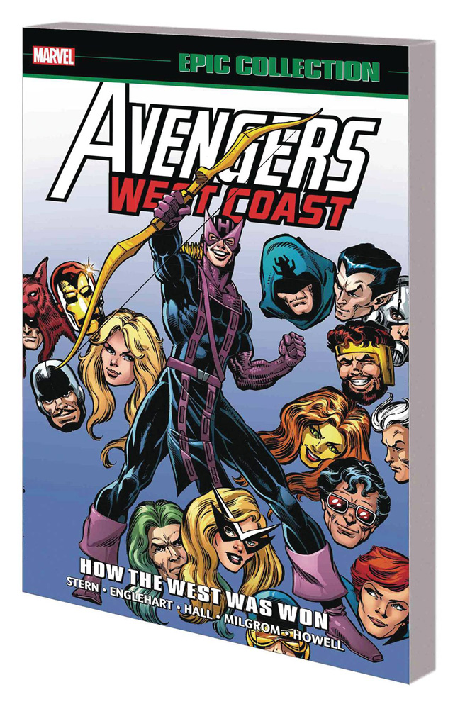 Image: Avengers West Coast Epic Collection: How the West Was Won SC  - Marvel Comics