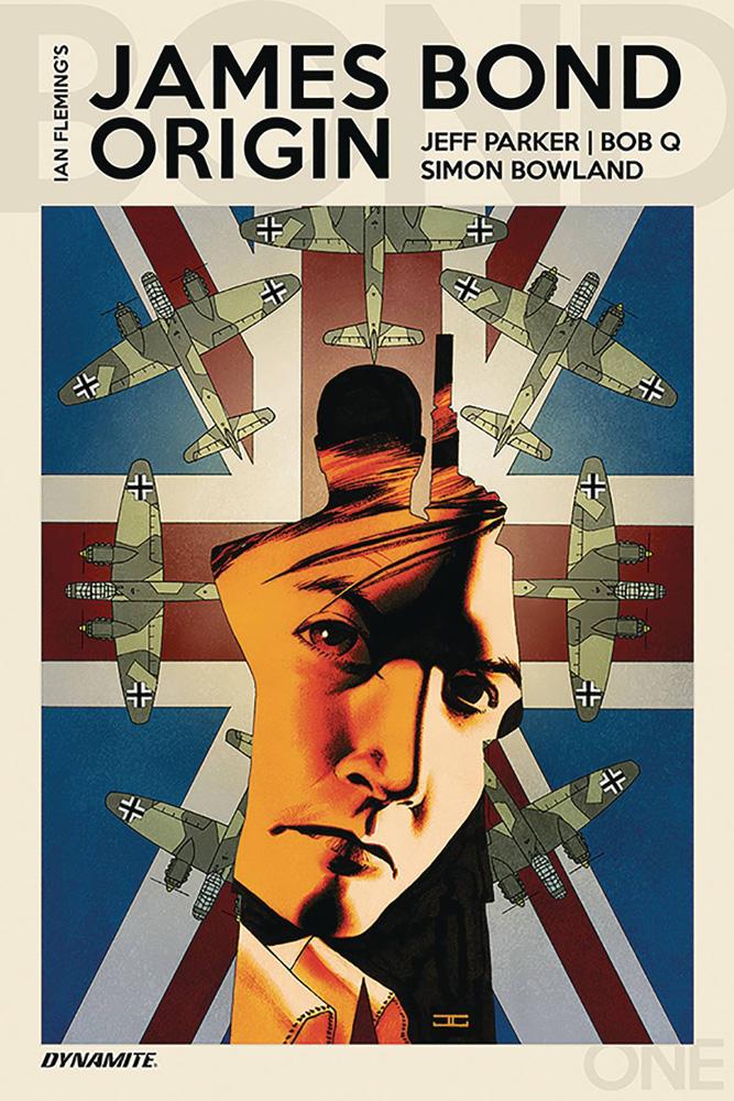 James Bond Origin #1 John Cassaday cover