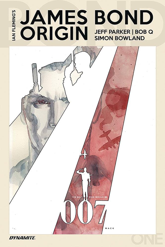 James Bond Origin #1 David Mack Cover