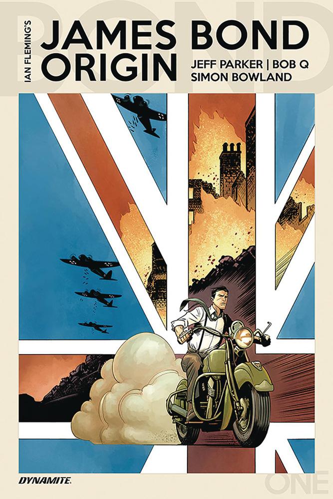 James Bond Origin #1 Bob Q cover