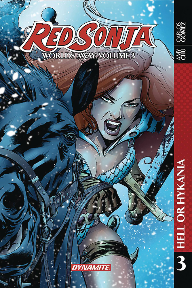 Image: Red Sonja: Worlds Away Vol. 03 - Hell or Hyrkania SC  - Dynamite