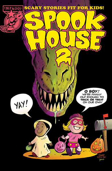 Image: Spook House 2 #1 (incentive cover - Jeff Smith)  [2018] - Albatross Funnybooks