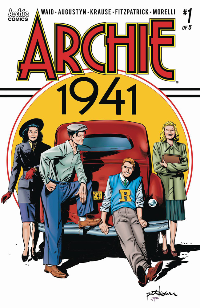 Archie: 1941 #1 Peter Krause cover