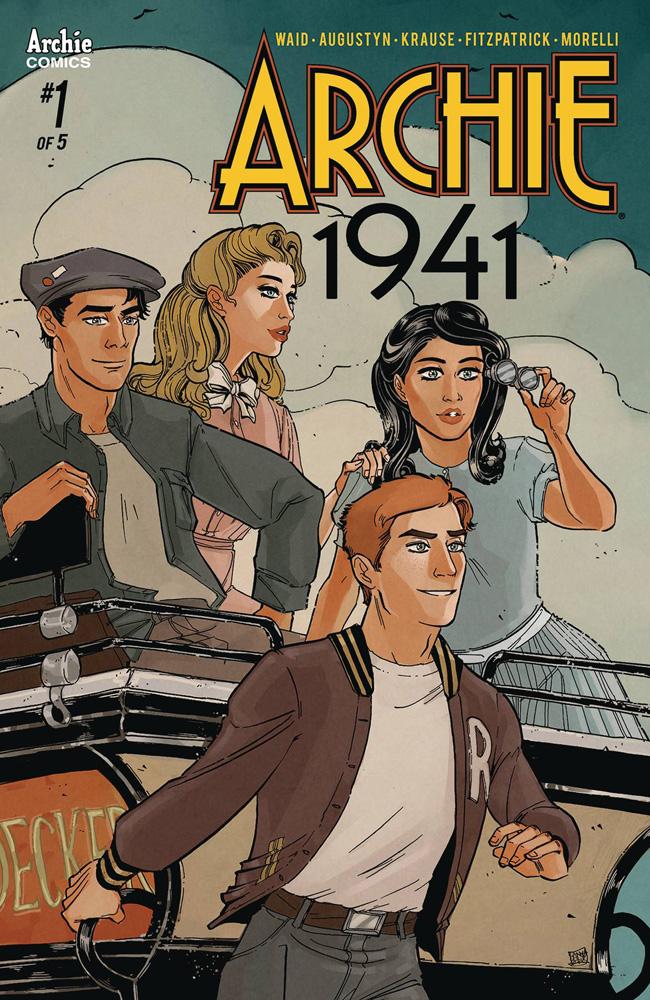 Archie: 1941 #1 Sanya Anwar cover