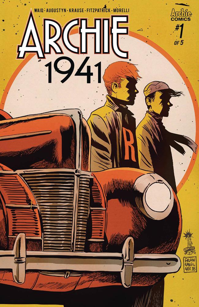 Archie: 1941 #1 Francesco Francavilla cover