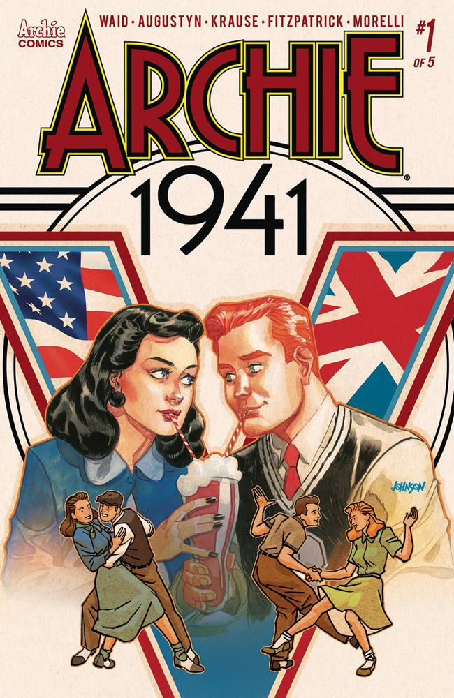 Archie: 1941 #! Dave Johnson cover