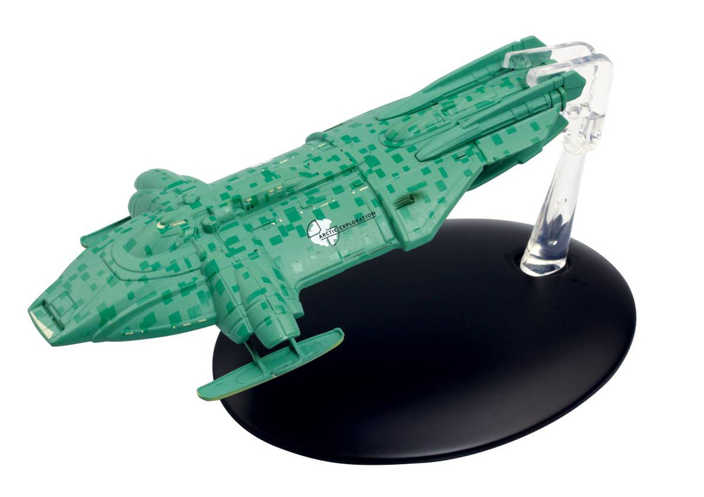 Image: Star Trek Official Starships Collection: United Earth Arctic One #131 - Eaglemoss Publications Ltd