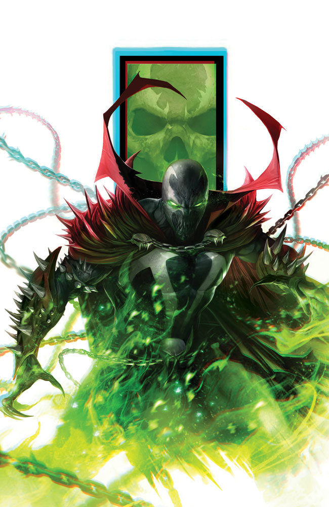 Image: Spawn #301 (cover G - Virgin Mattina)  [2019] - Image Comics