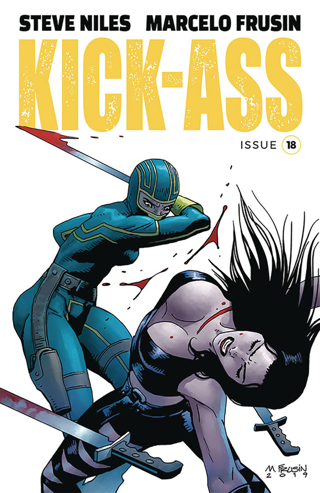Image: Kick-Ass #18 (cover A - Frusin) - Image Comics