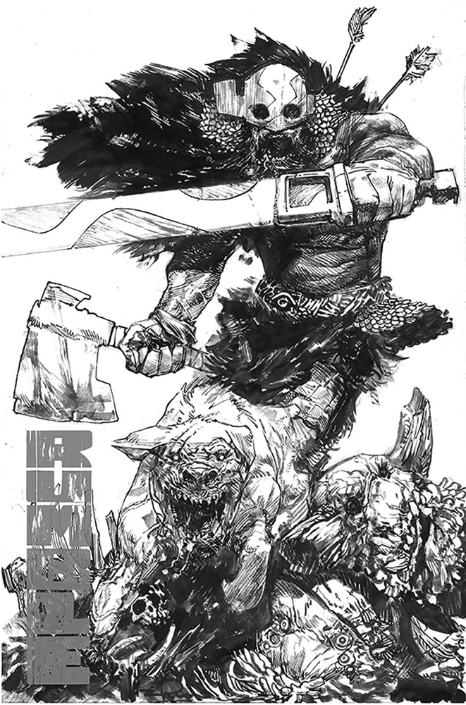 Image: Rumble #16 (cover A - B&W Zaffino) - Image Comics