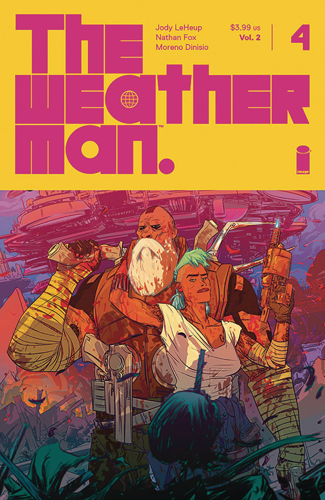 Image: Weatherman Vol. 2 #4 (cover A - Fox) - Image Comics