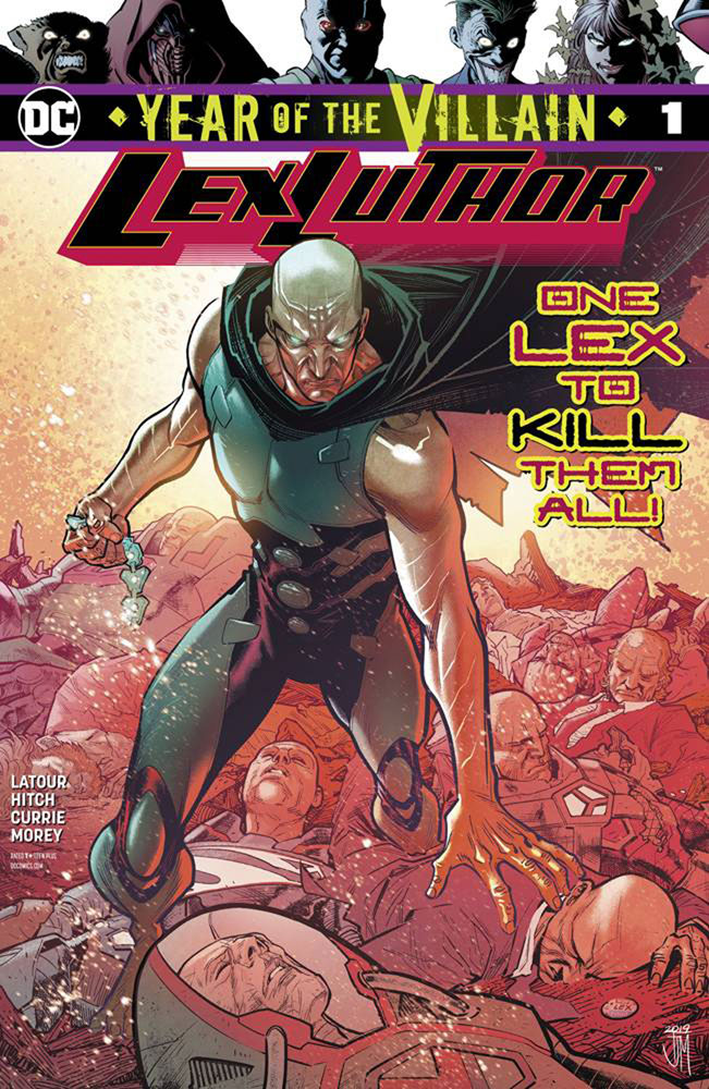 Image: Lex Luthor: Year of the Villain #1  [2019] - DC Comics