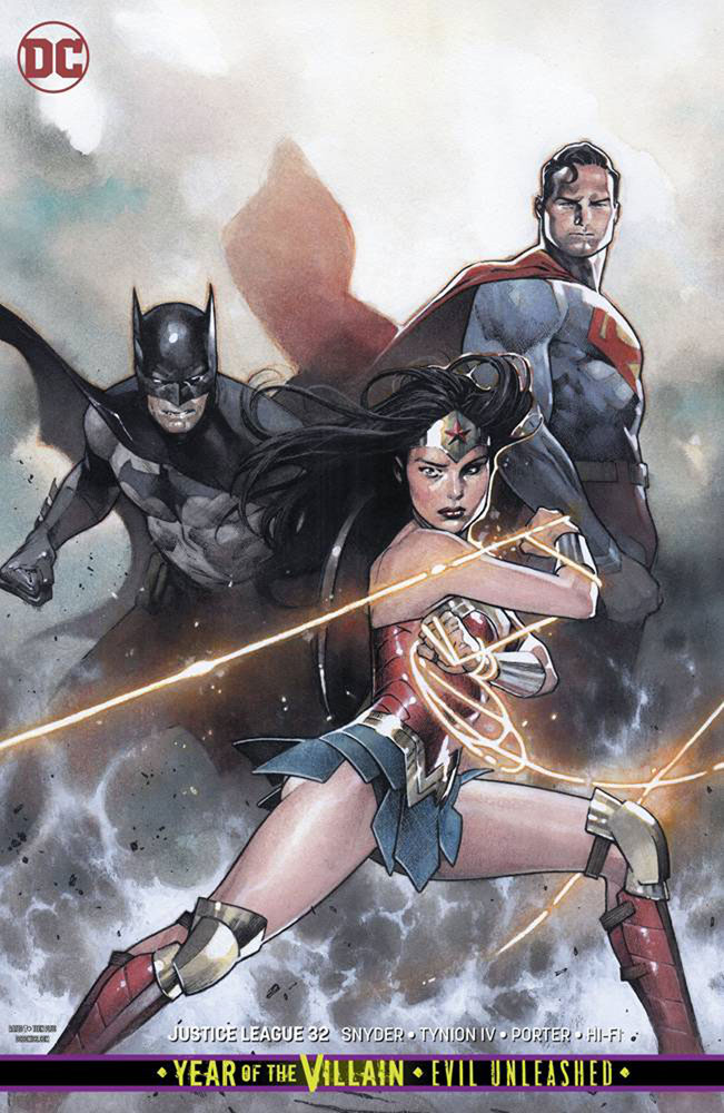 Image: Justice League #32 (variant card stock cover - Olivier Coipel)  [2019] - DC Comics