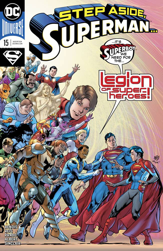 The Legion also makes an appearance in Superman #15, available for pre-order now