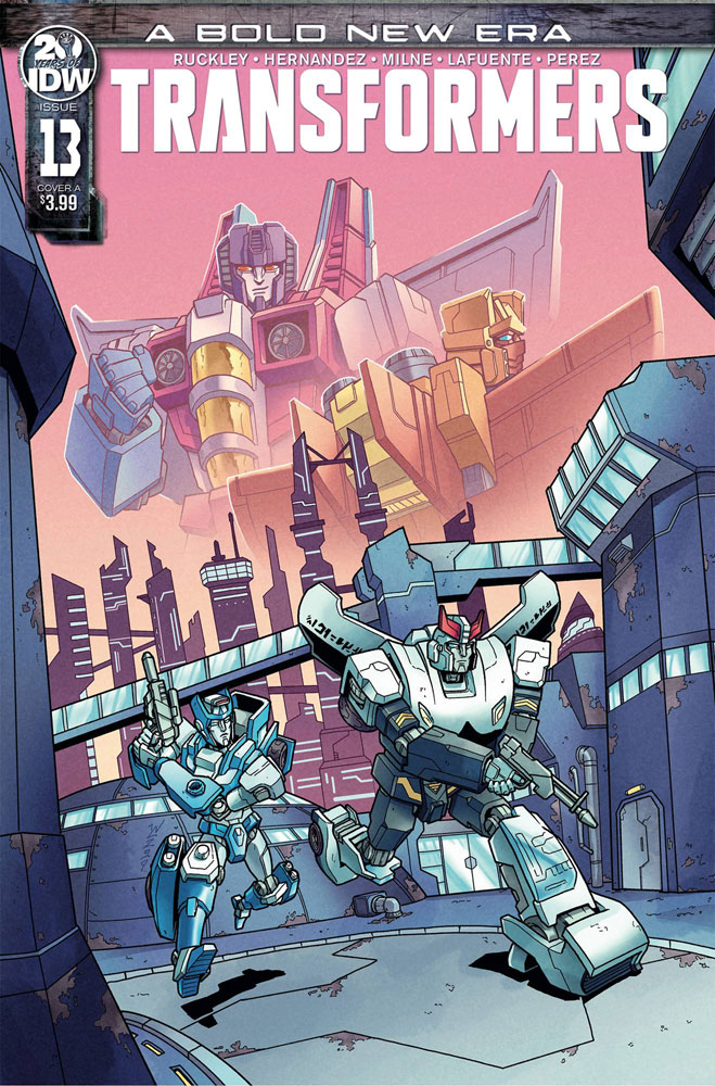 Image: Transformers #13 (cover A - Chan) - IDW Publishing