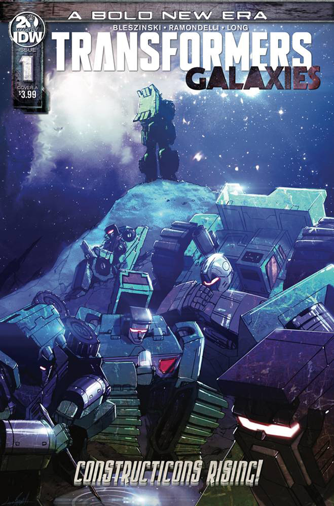 Image: Transformers: Galaxies #1 (cover A - Ramondelli)  [2019] - IDW Publishing