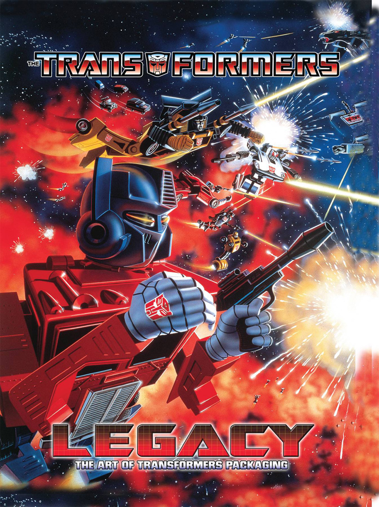 Image: Transformers Legacy: Art of Transformers Packaging SC  - IDW Publishing