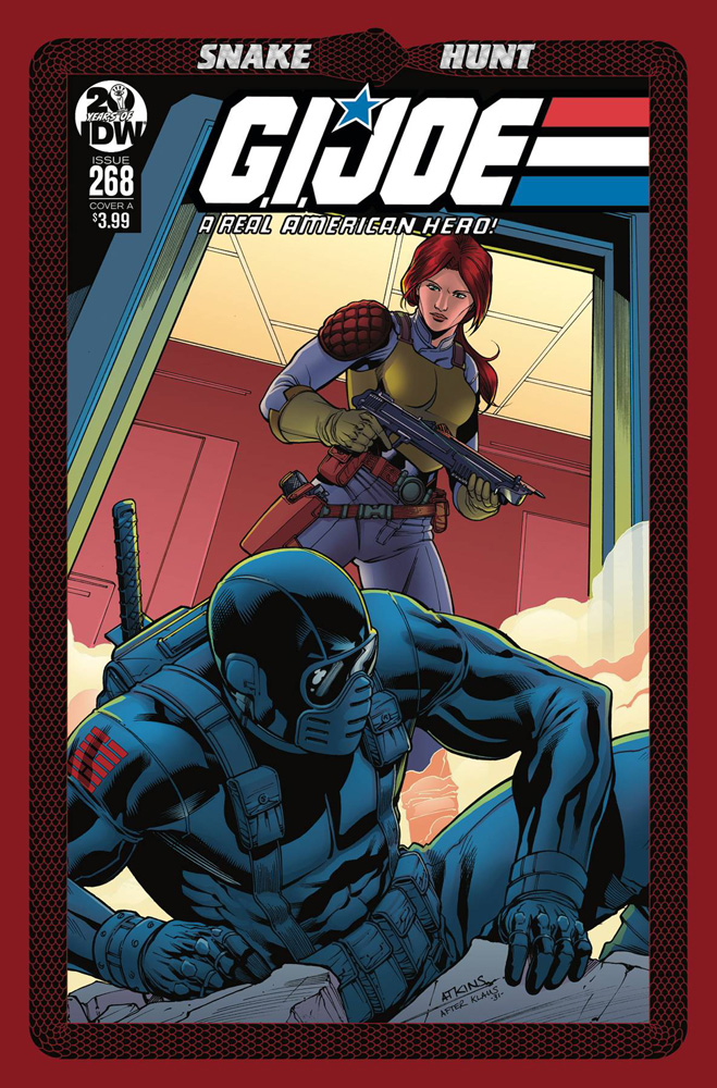 Image: G.I. Joe: A Real American Hero #268 (cover A - Atkins)  [2019] - IDW Publishing