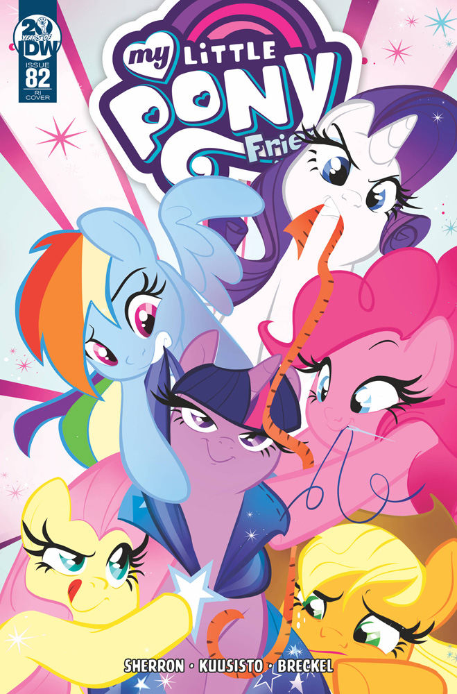 Image: My Little Pony: Friendship Is Magic #82 (incentive cover - Baldari) (10-copy)  [2019] - IDW Publishing