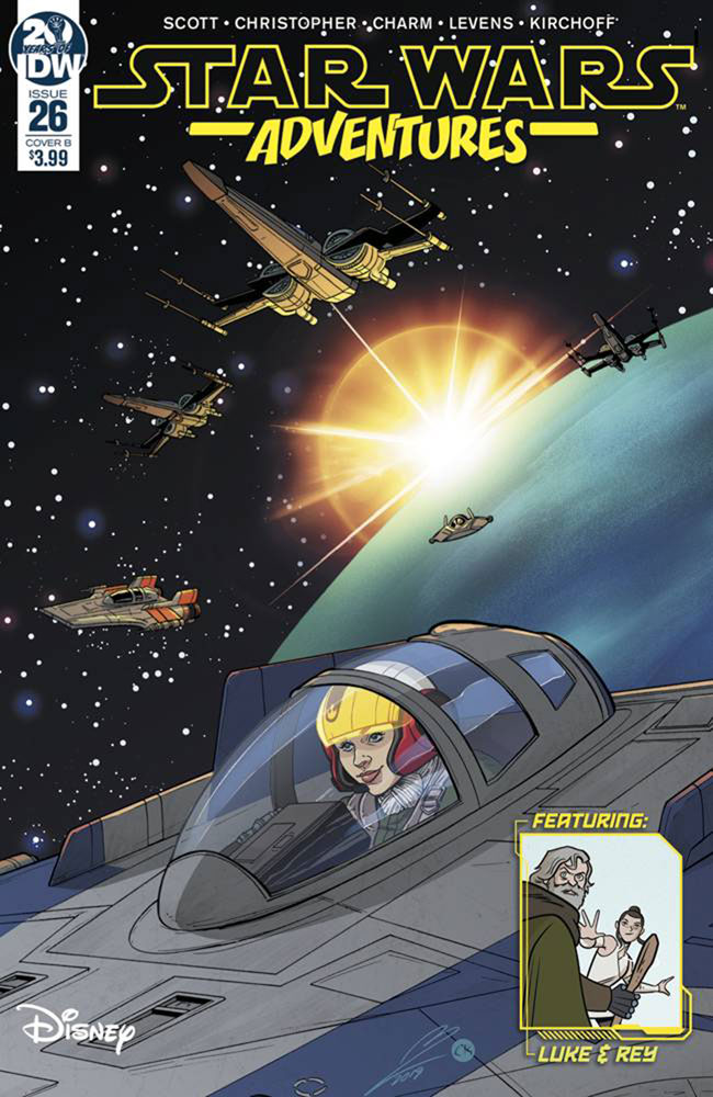 Image: Star Wars Adventures #26 (cover B - Levens) - IDW Publishing