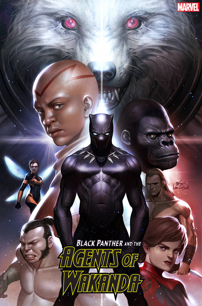 Image: Black Panther and the Agents of Wakanda #1 (1:50 incentive cover - In-Hyuk Lee) - Marvel Comics