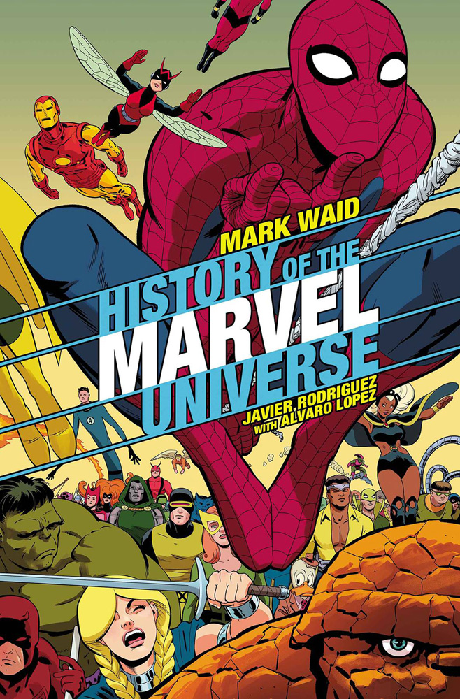 Image: History of the Marvel Universe #3 (variant cover - Rodriguez)  [2019] - Marvel Comics