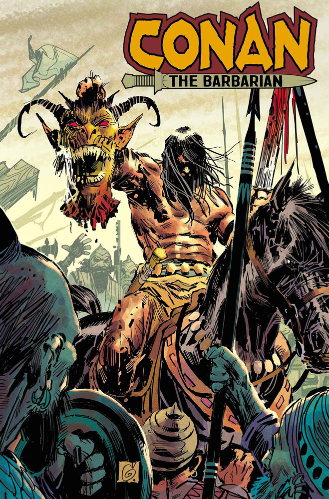 Image: Conan the Barbarian #9 (1:25 incentive cover - Garney)  [2019] - Marvel Comics