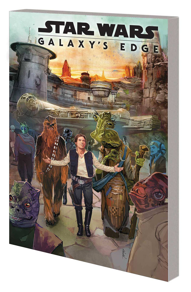Image: Star Wars: Galaxy's Edge SC  - Marvel Comics