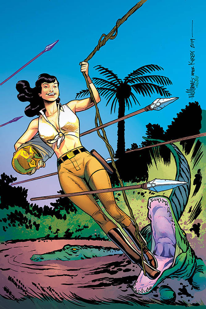 Image: Bettie Page: Unbound Vol. 03 #6 (incentive 1:20 cover - Williams virgin)  [2019] - Dynamite