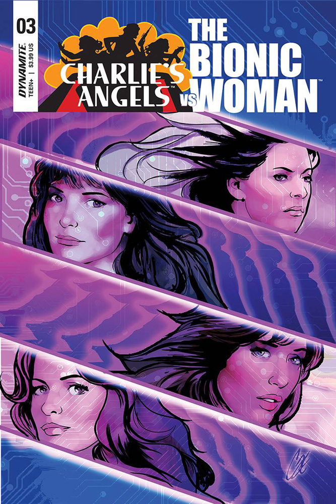 Image: Charlie's Angels vs. the Bionic Woman #3 (cover A - Staggs)  [2019] - Dynamite