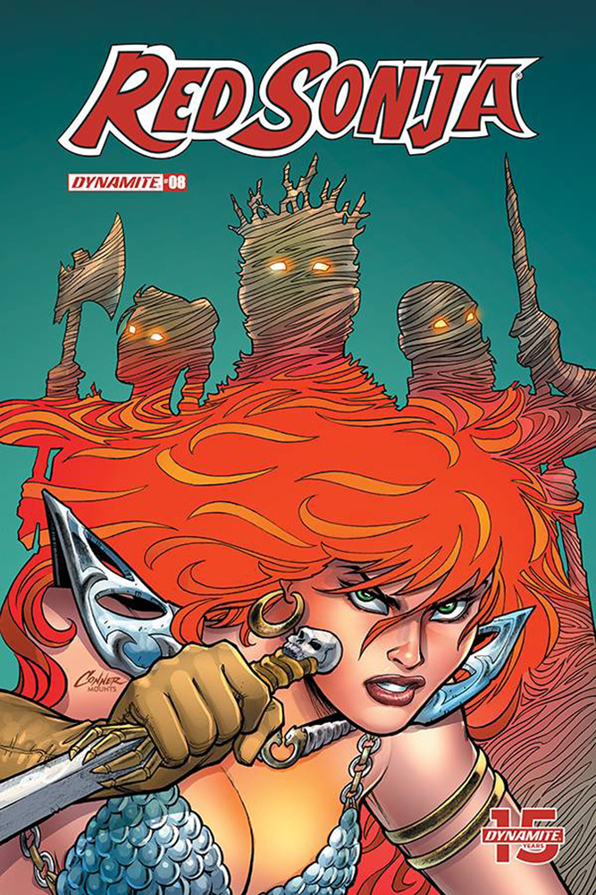 Image: Red Sonja Vol. 05 #8 (cover A - Conner)  [2019] - Dynamite