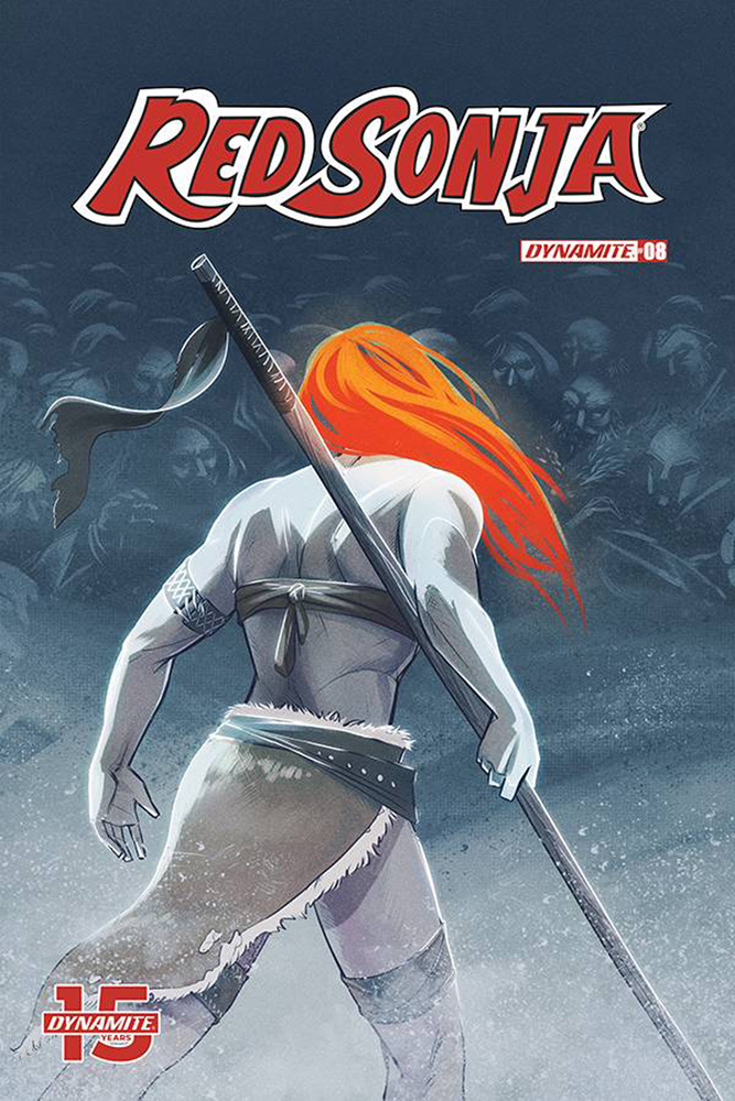 Image: Red Sonja #8 (cover D - Omeara) - Dynamite