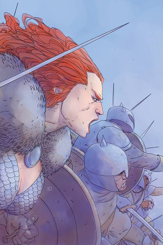 Image: Red Sonja Vol. 05 #8 (incentive cover - Pham virgin) (40-copy)  [2019] - Dynamite