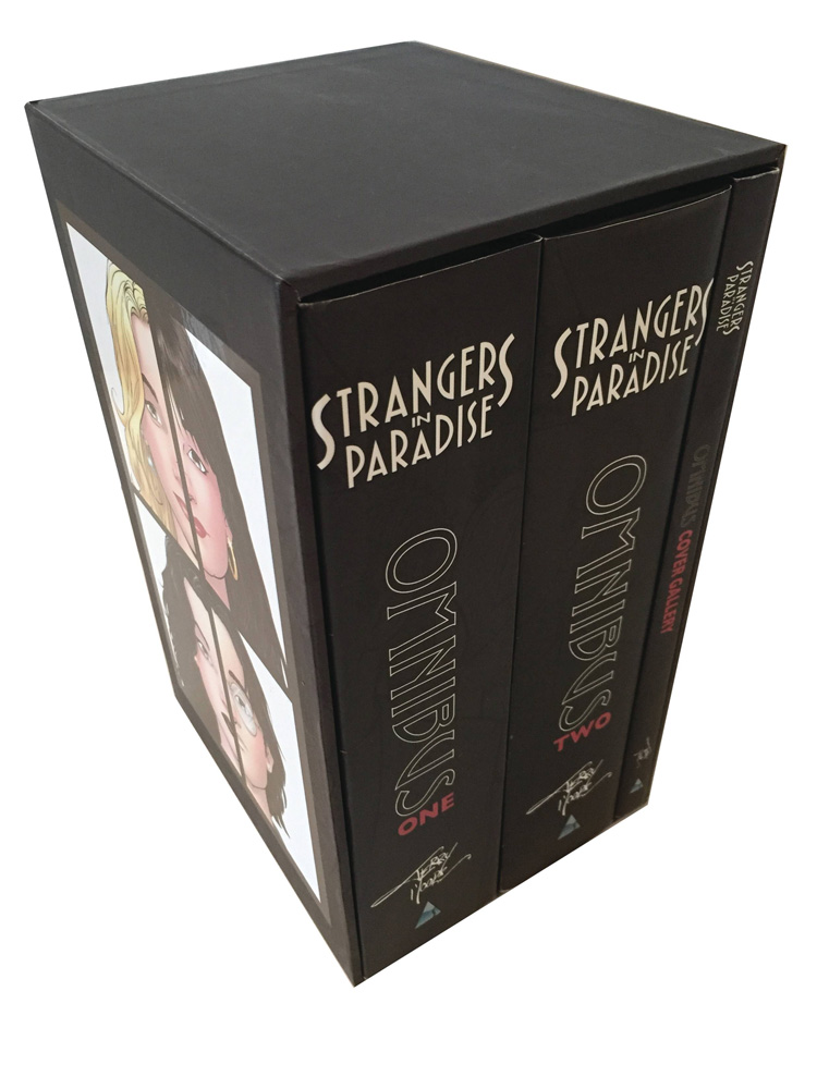 Image: Strangers in Paradise Omnibus Slipcased Set  - Abstract Studios
