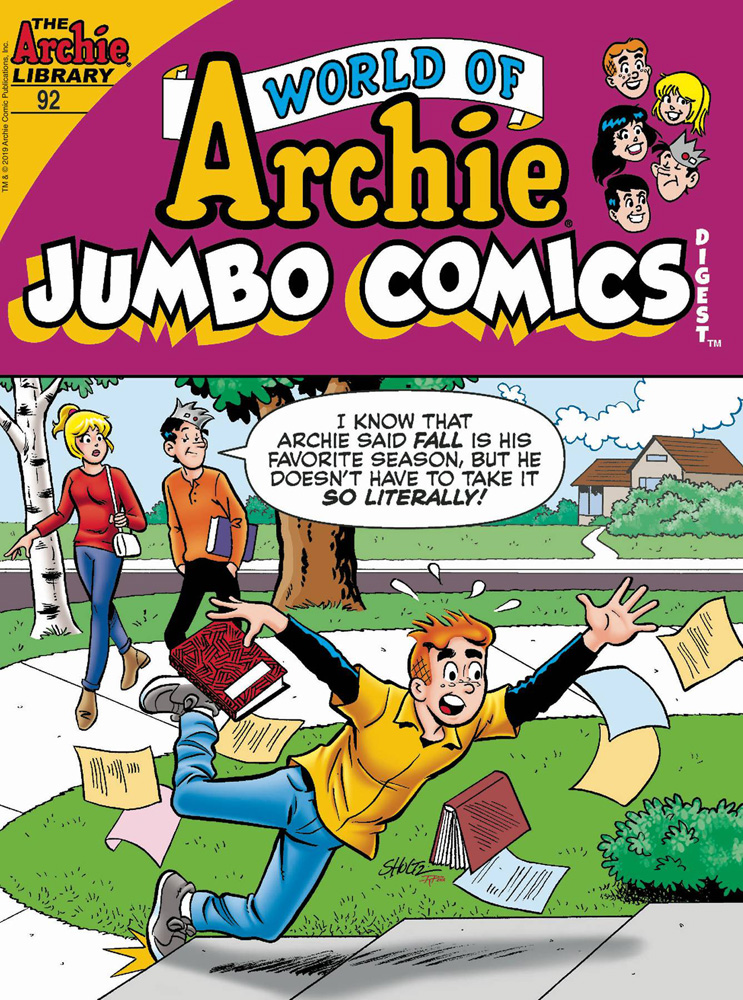 Image: World of Archie #92 (Jumbo Comics) Double Digest  [2019] - Archie Comic Publications