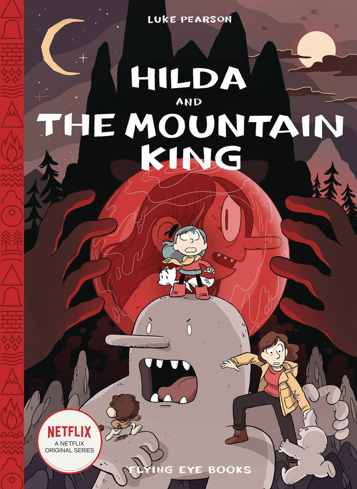 Image: Hilda and the Mountain King HC  - Nobrow - Flying Eye Books
