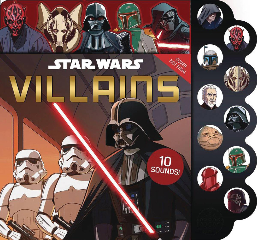 Image: Star Wars: 10-Button Sounds - Villains  - Printers Row