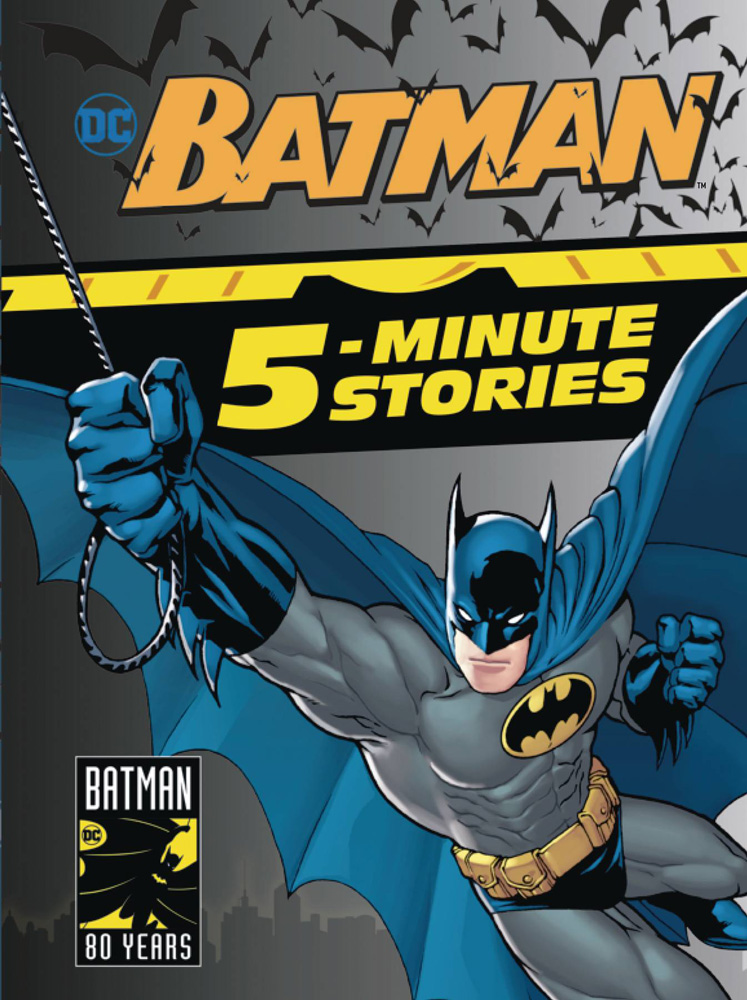 Image: Batman 5-Minute Stories Collection HC  - Random House Books Young Reade