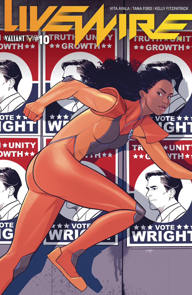 Image: Livewire #10 (cover A - Lee)  [2019] - Valiant Entertainment LLC