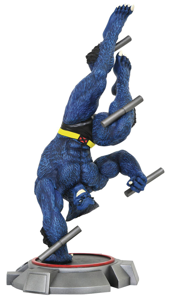 Image: Marvel Gallery PVC Diorama: X-Men - Beast  - Diamond Select Toys LLC