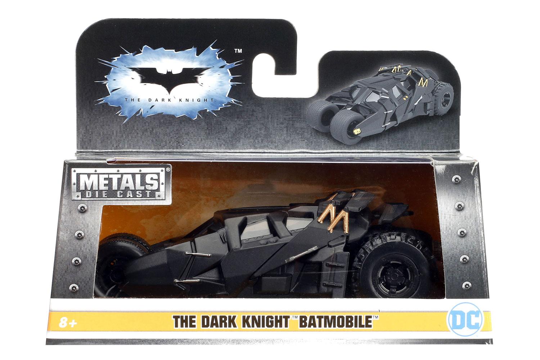 DC Comics Metals Die Cast: The Dark Knight Batmobile  - Jada Toys, Inc