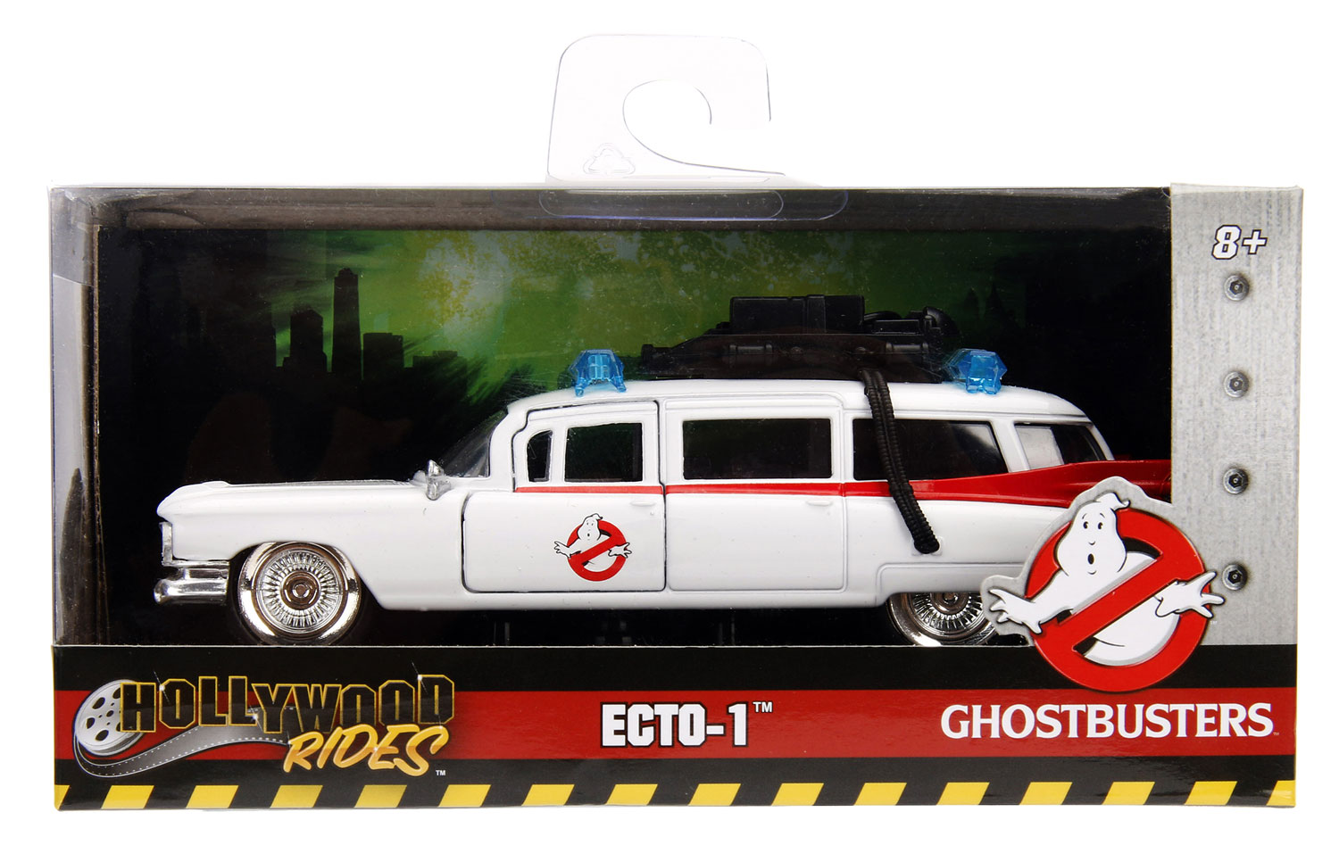 Metals Die-Cast Hollywood Rides: Ghostbusters - Ecto-1  - Jada Toys, Inc